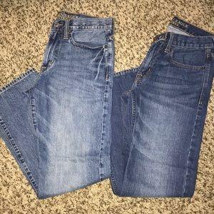 2 pr American Eagle jeans